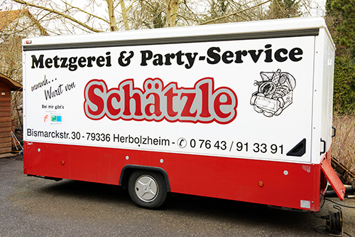 Metzgerei Schätzle Party-Service Mobil